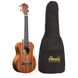 Amati UK210T Uke: Tenor Mahogany w/ Deluxe Bag