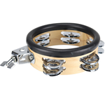 "Dixon M906N Little Roomer 6"" Wood Mounted Tambourine"