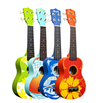 Painted Ukeleles