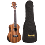 Amati UK210C UKE: Concert Mahogany w/ Deluxe Bag