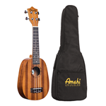 Amati UK240S Pineapple Mahogany Uke w/ Deluxe Bag