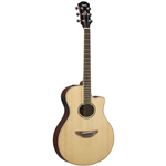 Yamaha APX600NA Thin Line Body, Spruce Top